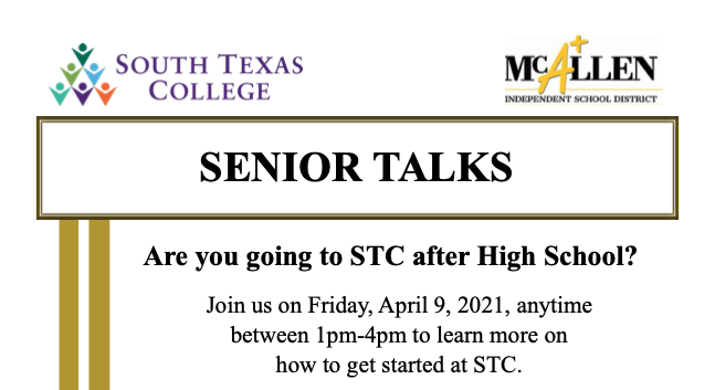 STC Senior Talk Event