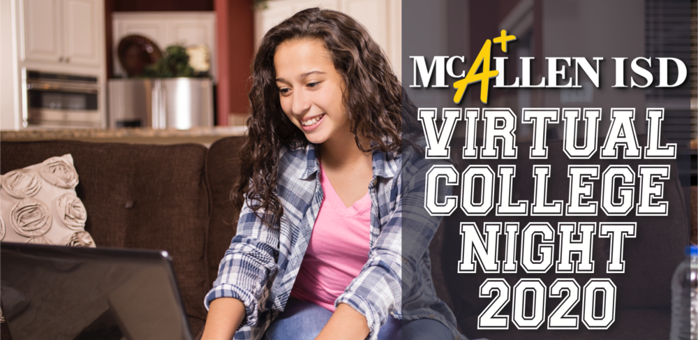 Virtual College Night Sept. 29th, 2020