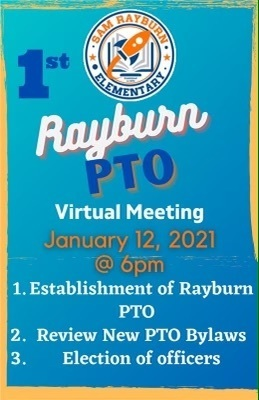 Rayburn PTO Virtual Meeting