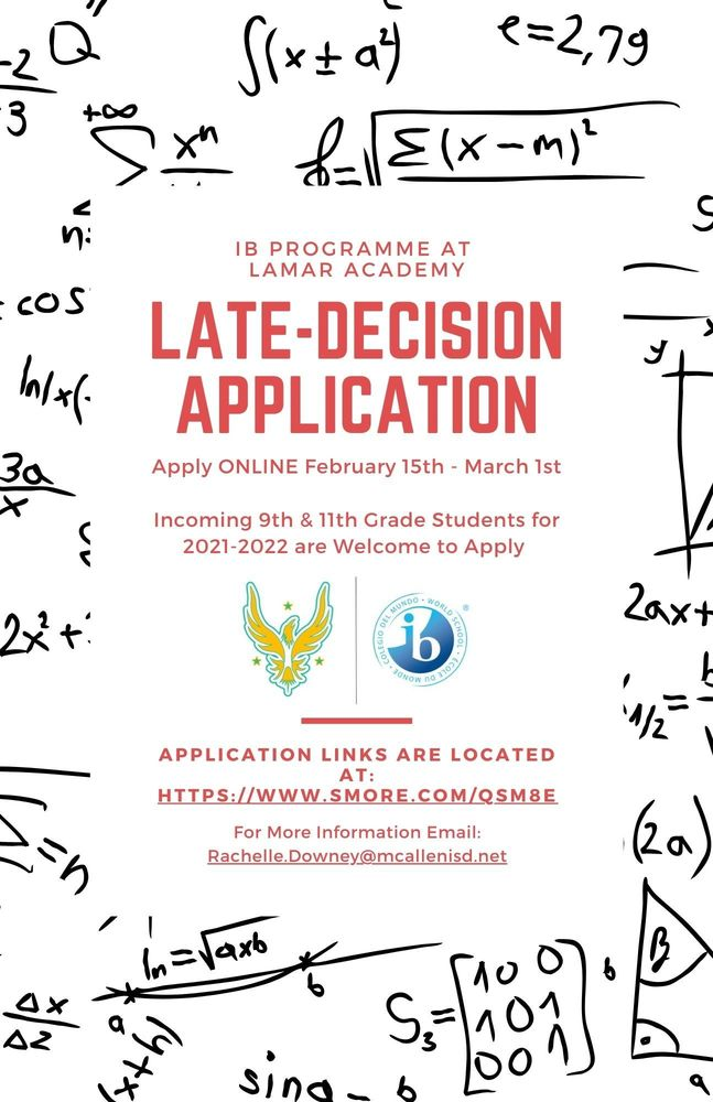 Late-Decision Application
