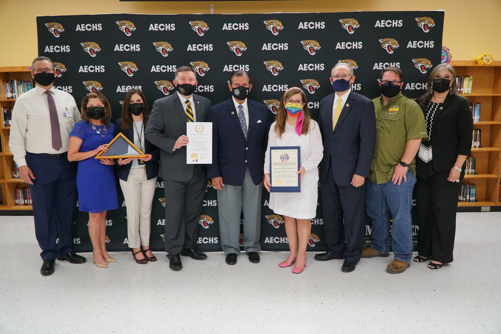 State recognizes Achieve ECHS for Blue Ribbon nomination