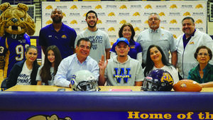 McHi's Amador to play football for Wayland Baptist