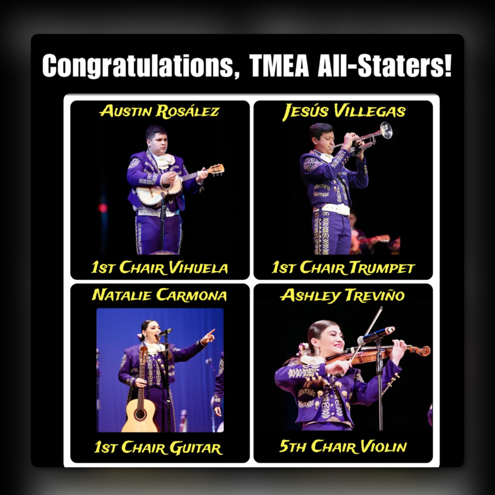 4 McHi students earn All-State in Mariachi
