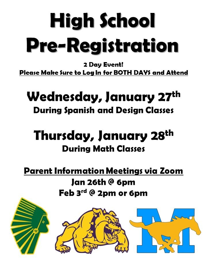 High School Pre-Registration