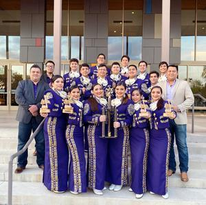 McHi Mariachi Oro takes 1st place at FESTIBA event