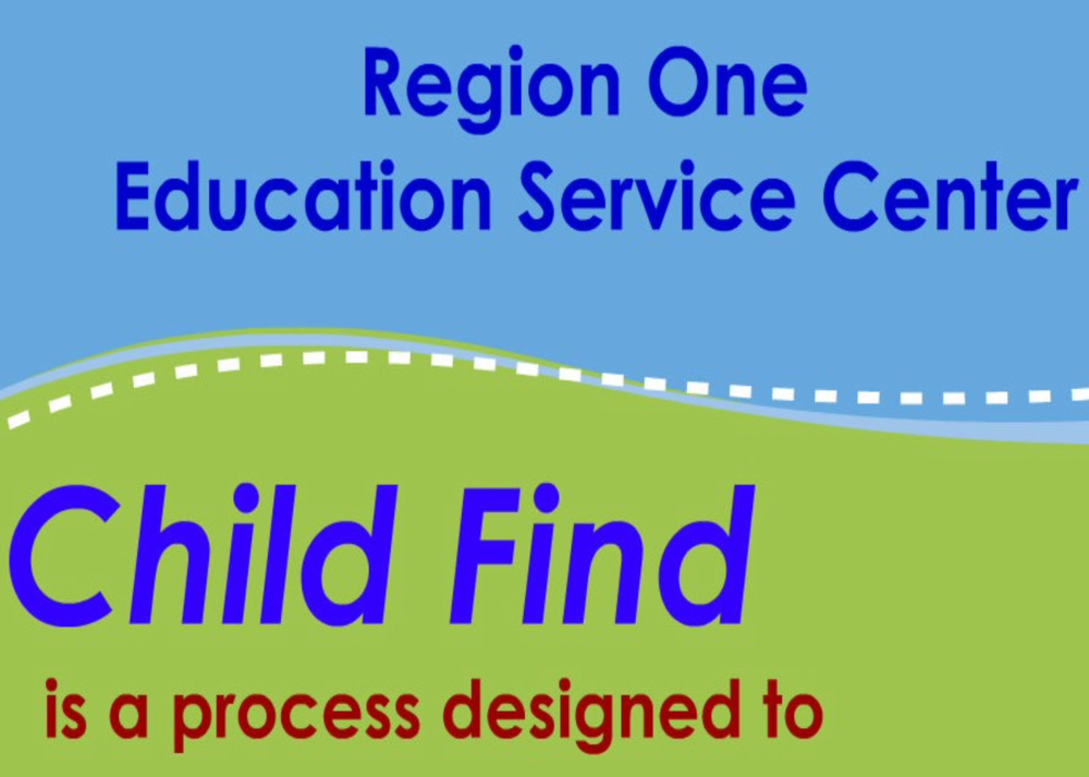 Region One 's Child Find Program