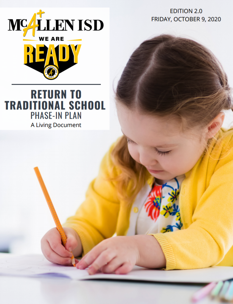 RETURN TO TRADITIONAL SCHOOL PHASE-IN PLAN VERSION 2