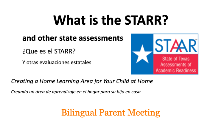 Information on the STAAR Test/TELPAS Test