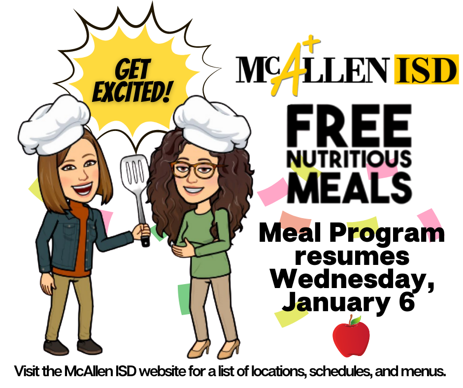 Free Meal Program Resumes