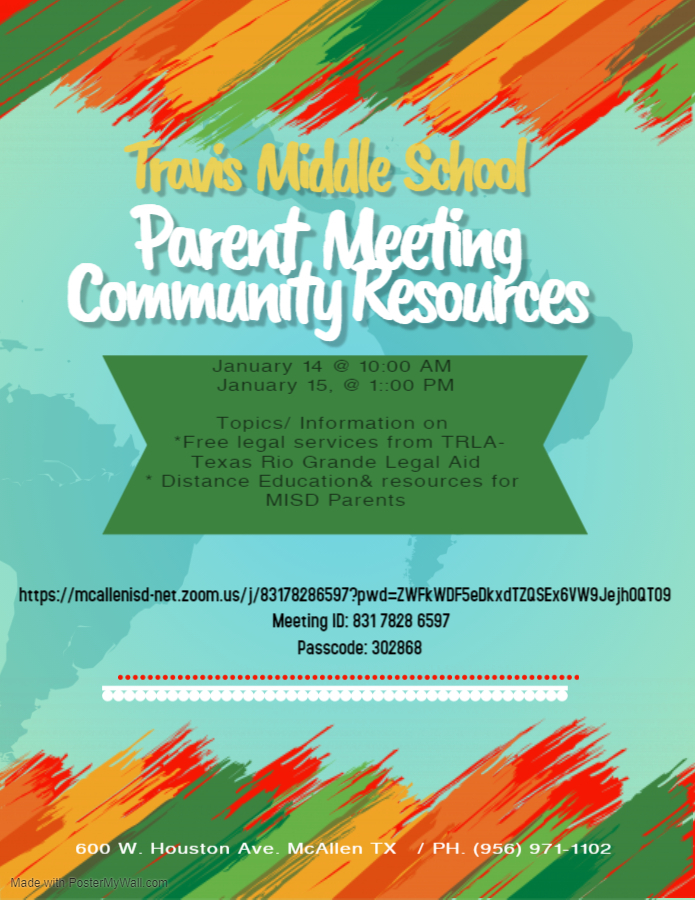 Travis MS Parent Meeting