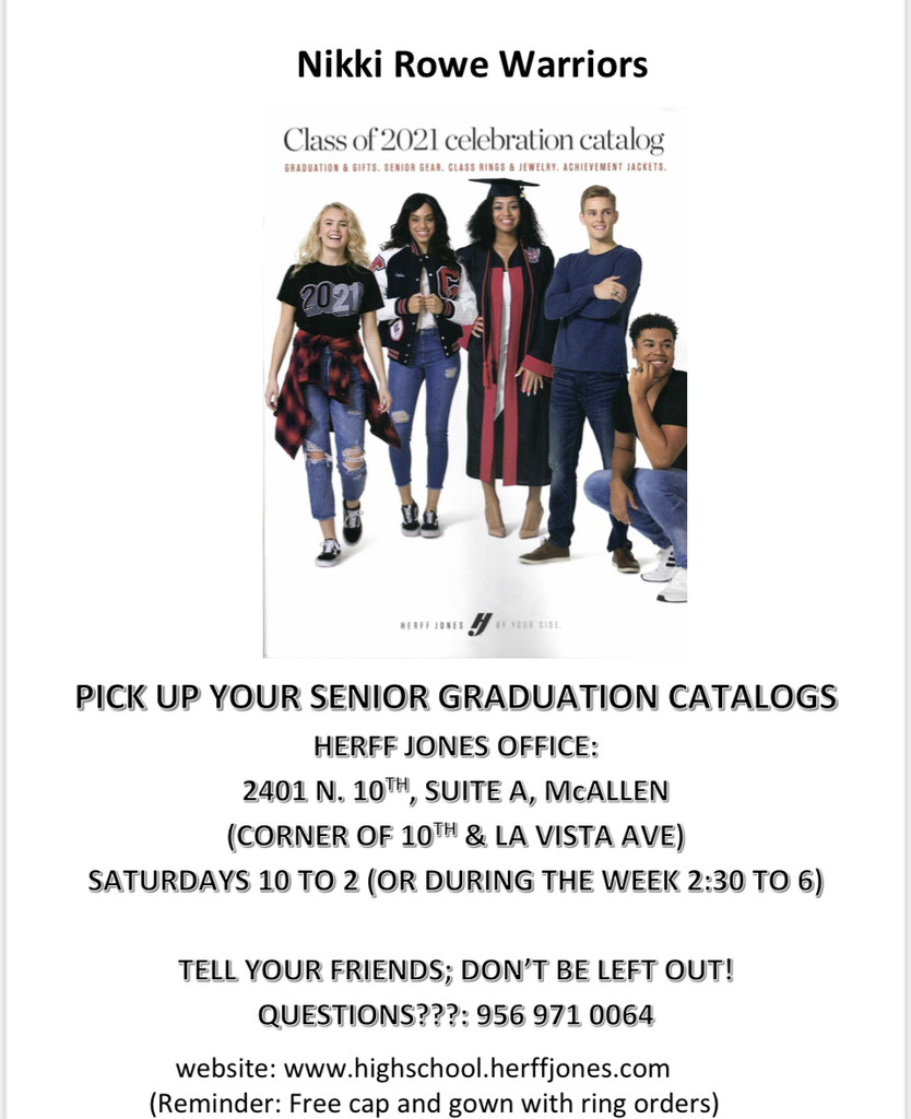 Graduation Cap and Gown information!