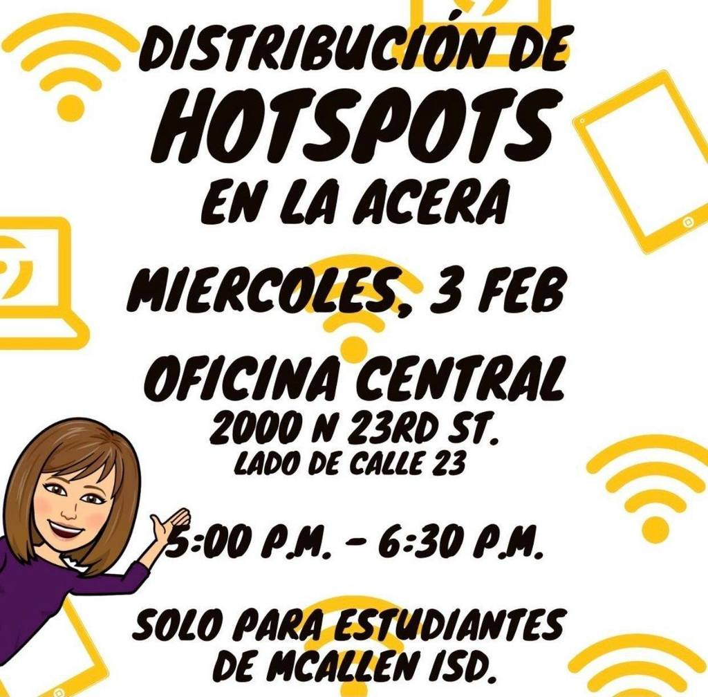Curbside HotSpot Distribution Spanish