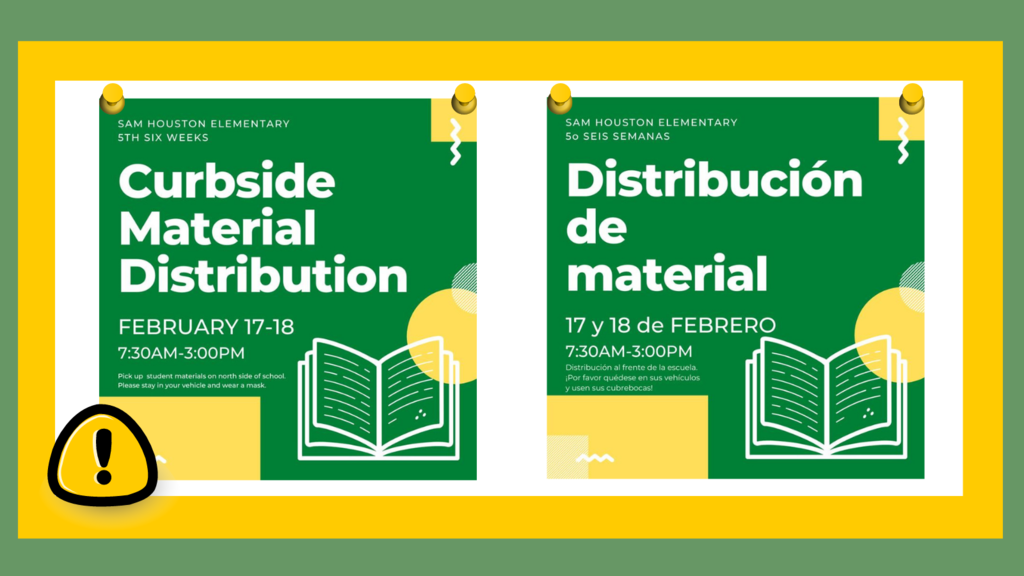 Curbside Material Distribution