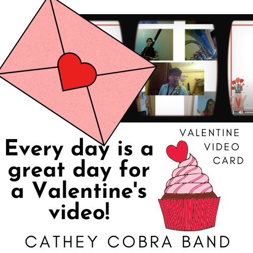 Happy Valentines Day from the Cathey Cobra Band!